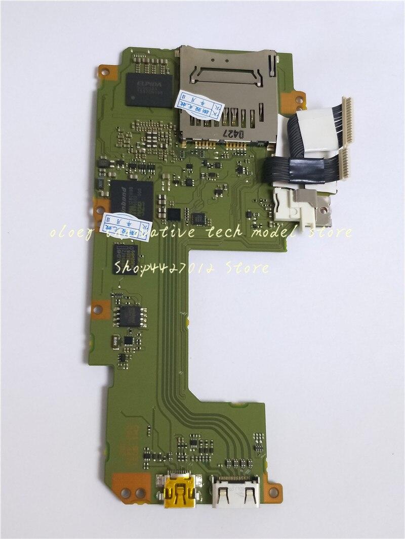 100% placa principal Original 70D para canon para eos 70D placa madre/placa de datos/tarjeta ranura tarjeta adecuada para Canon para EOS 70D