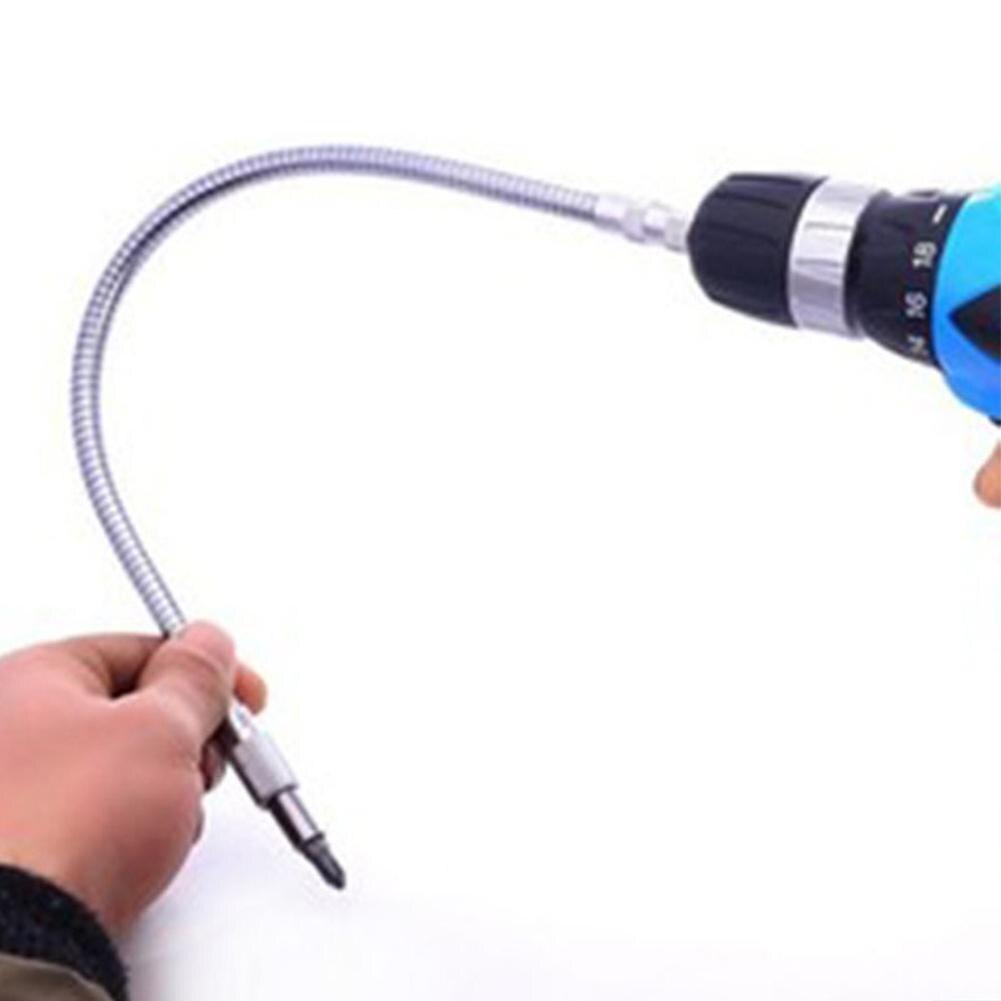 400 мм гибкий инструмент вала металлический сверлильный шуруповерт долото 15-40 см держатель соединительное соединение Multitul шестигранный хвостовик расширение змея бит