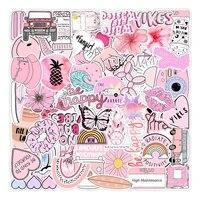 103050pcs pink graffiti cartoon sticker computer notebook mobile phone water cup sticker waterproof sticker wholesale