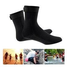 Calcetines de buceo botas de playa traje de neopreno antiarañazos calentador antideslizante natación playa 3MM grueso mantener caliente snorkel zapatos Scuba
