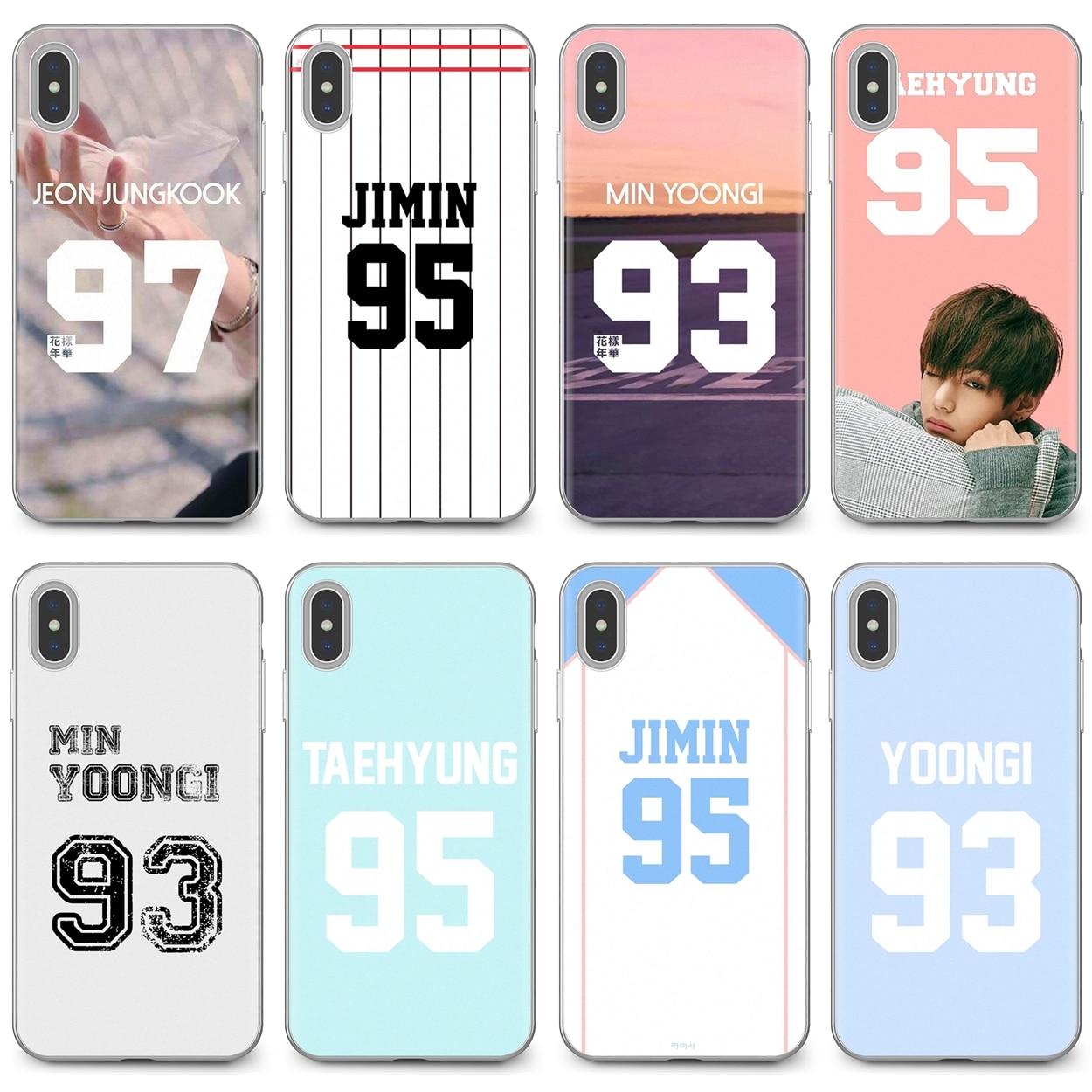 Cubierta suave coreano jersey de estrellas Jungkook jhope jimin para Huawei G7 G8 P7 P8 P9 P10 P20 P30 Lite Mini Pro P Smart 2017 de 2018 a 2019