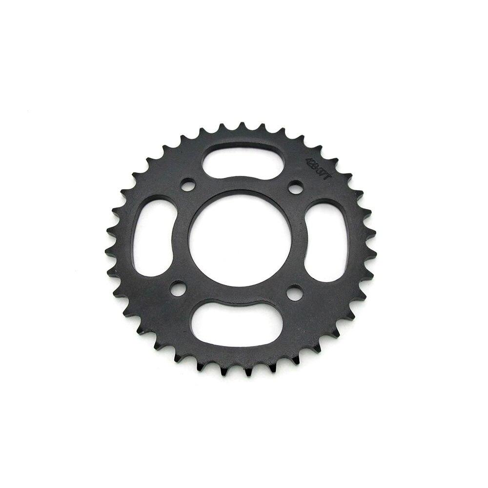 Accesorios para motocicleta Dirt bike 428-37T, Piñón de cadena trasero modificado 58MM, Piñón dentado de diámetro interior