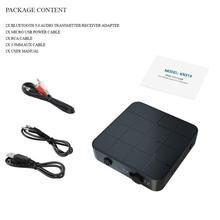 Bluetooth 5,0 Audio récepteur émetteur 2 en 1 RCA 3,5 MM 3,5 prise AUX USB Musik stéréo sans fil adaptateur pour Auto TV MP3 PC