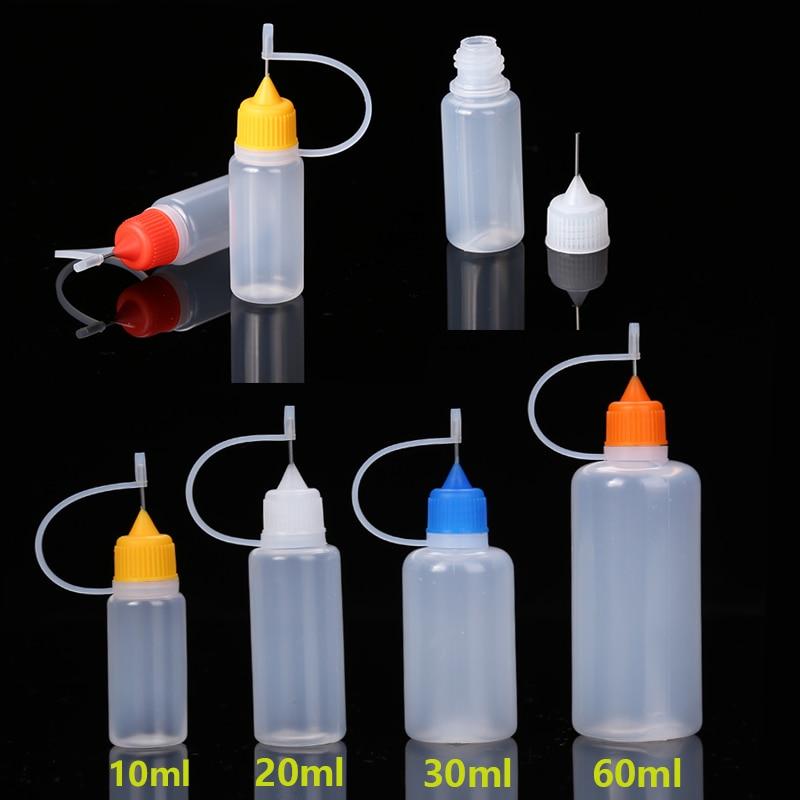 aliexpress.com - 5-10 pcs/set 10/20/30/60ML Needle Tip Glue Applicator Bottles for Liquid Paint Glue Quilling DIY Scrapbooking Paper Crafts Tools