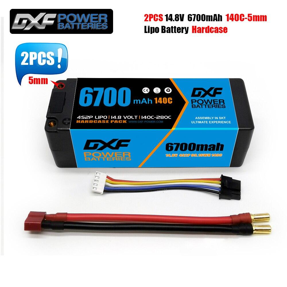 DXF يبو بطارية 3S 4S 11.1V 14.8v 15.2V 6500mAh 6700mah 6300mah 6750mAh 8000mAh 8400mAh 140C 280C 100C 200C130C 260C 120C 240C