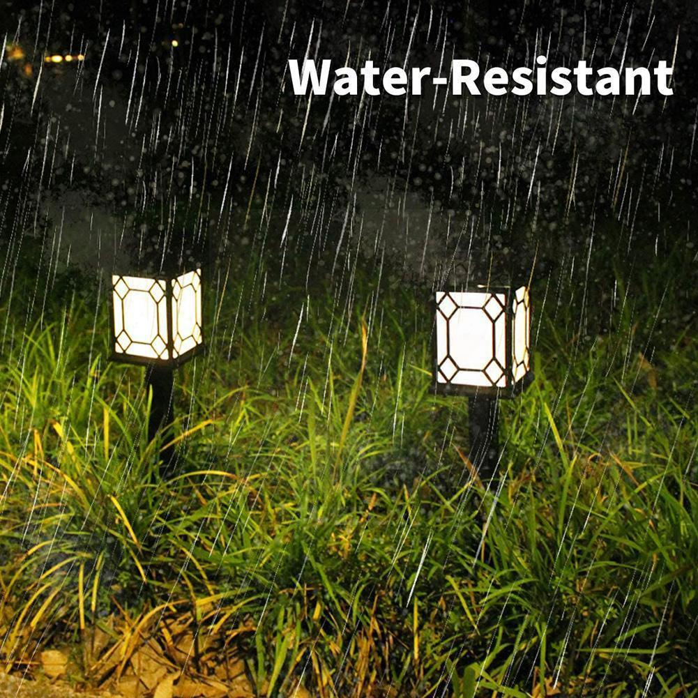 2Pcs One Pair Solar Lawn Light Energy Saving And Environmental Protection Night Lamp Illumination Decoration Outdoor Lamp B5P5 8pcs 10 5mm high performance energy saving and environmental modification racing ignition wire