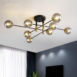 Modern led chandelier home decoration lighting Nordic restaurant chandelier E27 ball lamp ceiling lamp living room kitchen lamps