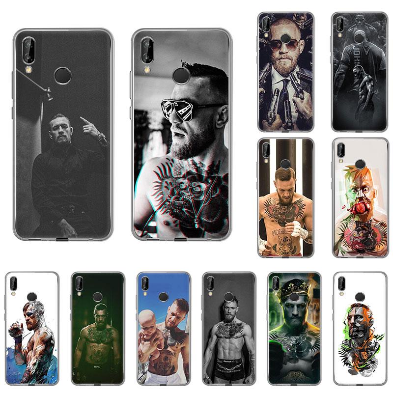 Силиконовый чехол для телефона Conor Mcgregor boxing Nova5T для Huawei honor 20Pro 9X V20 10 8S 8a 20i 8X Max 9Lite 7A 10i 7s Модный чехол