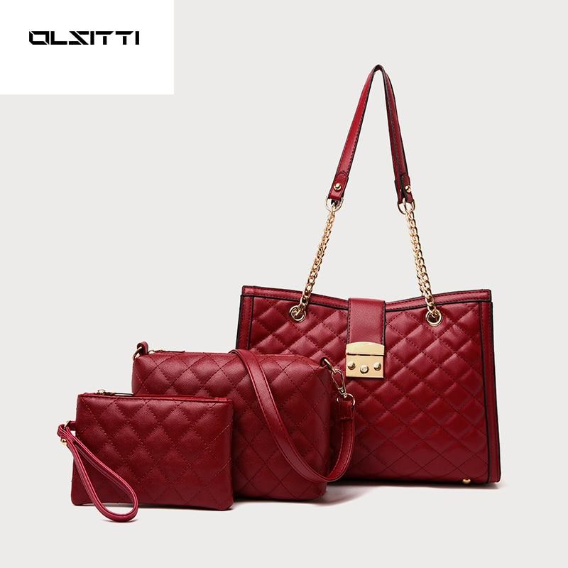 OLSITTI Pu Leather Luxury Women's Handbags Ladies Hand Bags for Women 2021 Designer New Tote Bag Sac