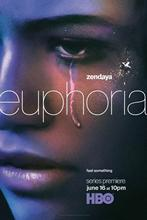 Euphoria zendaya 2019 tv 시리즈 벽 스티커 홈 인테리어 실크 아트 포스터