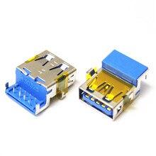 USB 3,0 Jack para Asus X55A X55C X55VD X55A X55V X55VM K55VM G46V G46VW X55U U57A X54 X45V X45U G75V G75VX G75VW Puerto hembra Conn