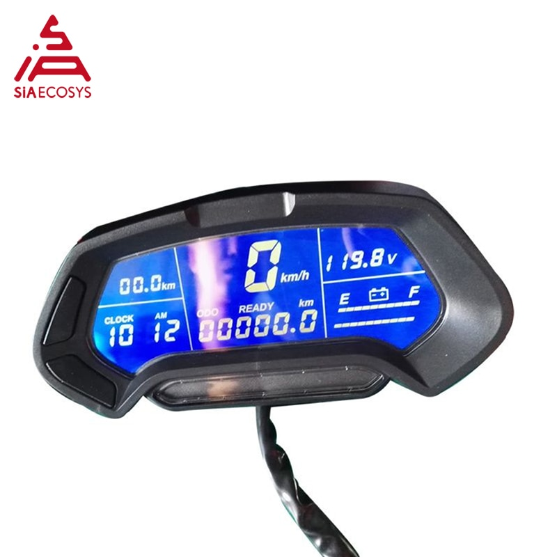 QS Motor CT-22 48v-144v universal digital programmable Electric electronic Motorcycle Scooter Speedometer