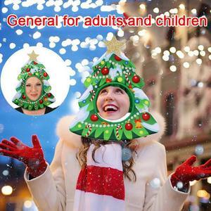 Рождественская шапка, головной убор для представлений, косплей, ролевые игры для рождественской вечеринки, Рождественская шляпа, реквизит ...