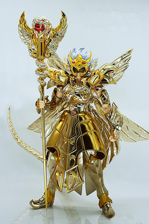 Jmodel Saint Seiya Cloth Myth Specters EX Gold Ophiuchus Odysseus TV color model metal cloth SJ018*