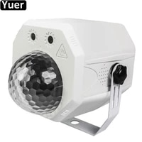 new laser magic ball light 10w beam laser 2in1 dj disco ball sound activeted remote control christmas party club effect light
