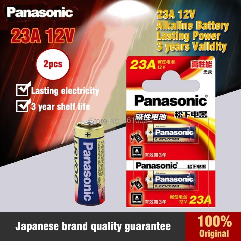 2 unids/lote nueva Original de Panasonic 23A 23A 12V Batería Ultra alcalina/baterías...