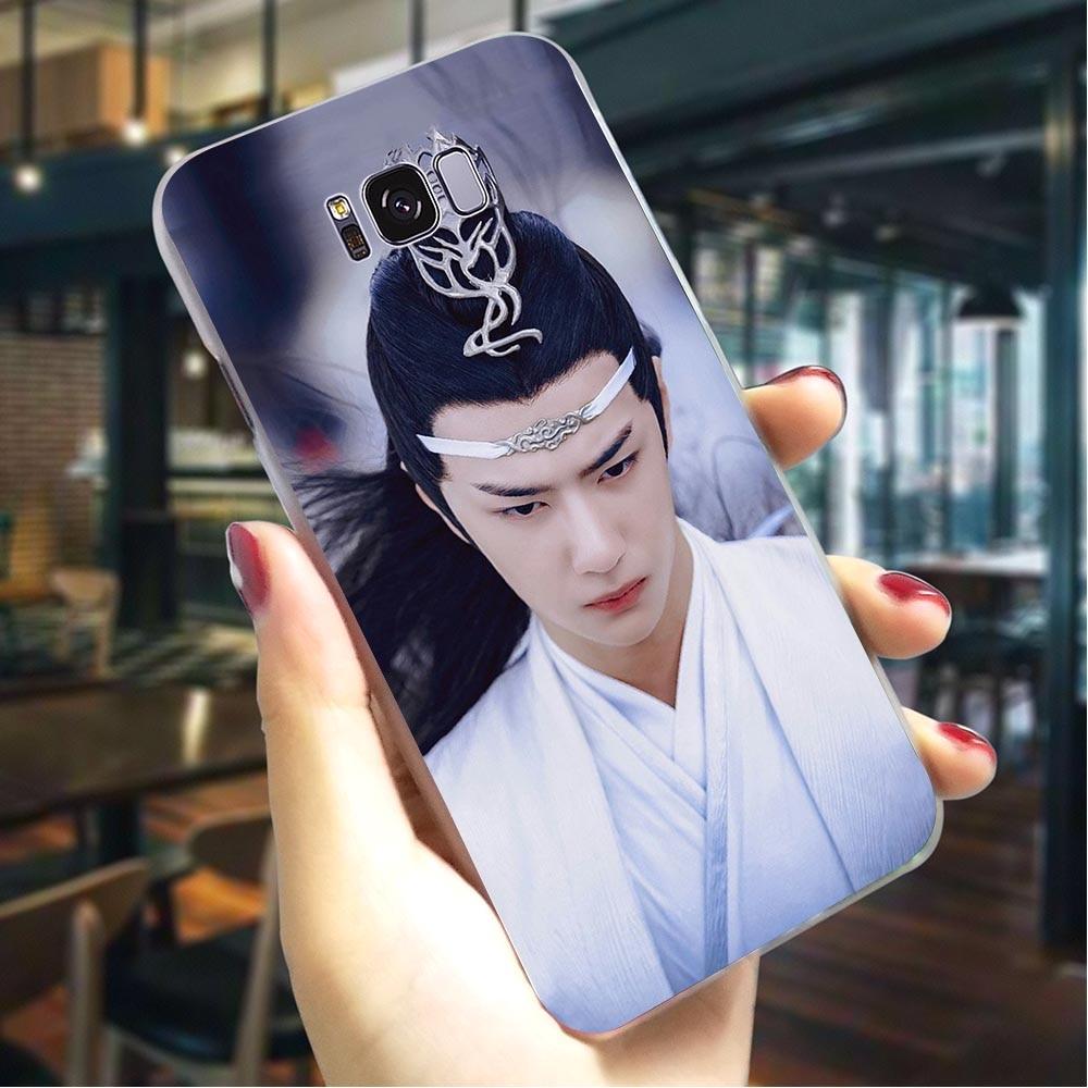 Funda de teléfono Untamed Wang Yibo Xiao Zhan para Samsung S10 Note 8 9 10 M10 M20 M30 S7 S6 Edge S8 S9 Plus S10se