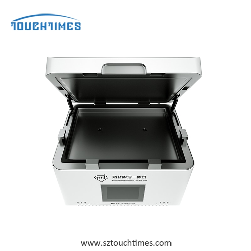 Tbk 808A Laminating And Defoaming Machine All In One Machine 13inch Worktable Touch Screen Control 110V 220V enlarge
