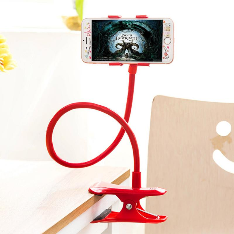 Portable Mobile Holder Lazy Bed Clip Phone Holder Stand Smartphone Support Tablet Stand for iPhone D
