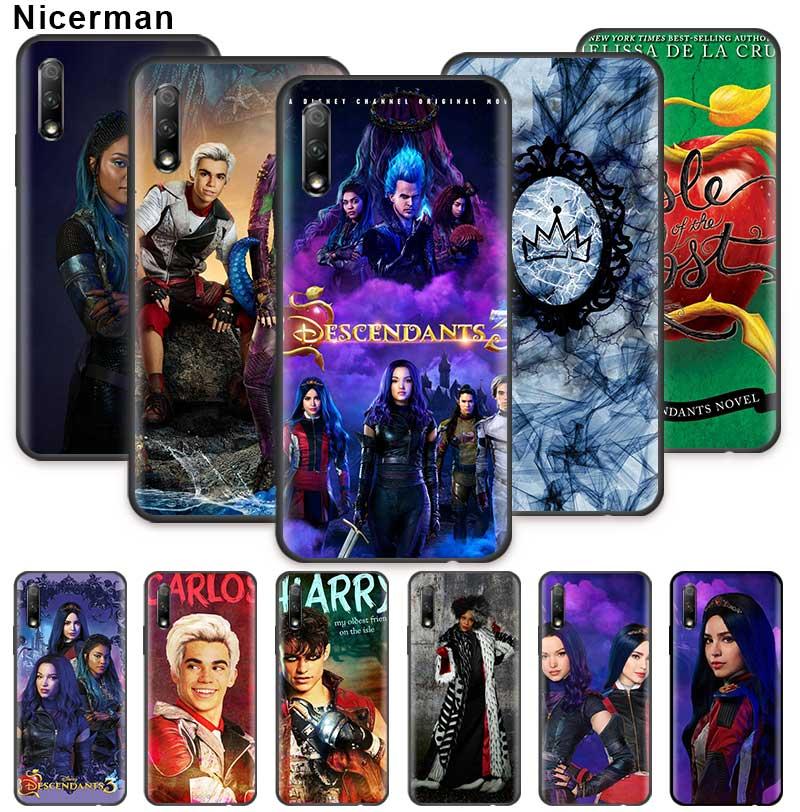 Kenny Ortega Descendants Case for Huawei Honor 20 Pro 20e 20S 30 30S 10 9X Lite 9A 9C 9S 8A Silicone Phone Cover