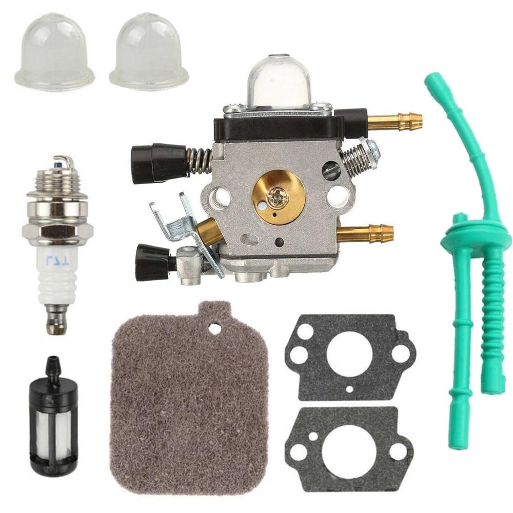 Carburetor For Zama Carb Stihl BG45 BG46 BG55 BG65 BG85 SH55 SH85 Blade Blower Air Filter Fuel Filter Green Oil Pipe Spark Plug