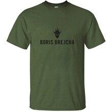 Funny Printing Letters Boris Brejcha T-Shirt For Men Casual Comic Homme Men Tshirts 2020 Plus Size S-5xl Camisetas
