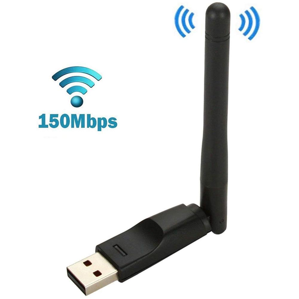 Мини Беспроводной Wi-Fi usb-адаптер палка RT5370 150 Мбит/с Беспроводной сетевая карта для Aura Hd MAG 250 254 255 260 270 275 IPTV OTT коробка