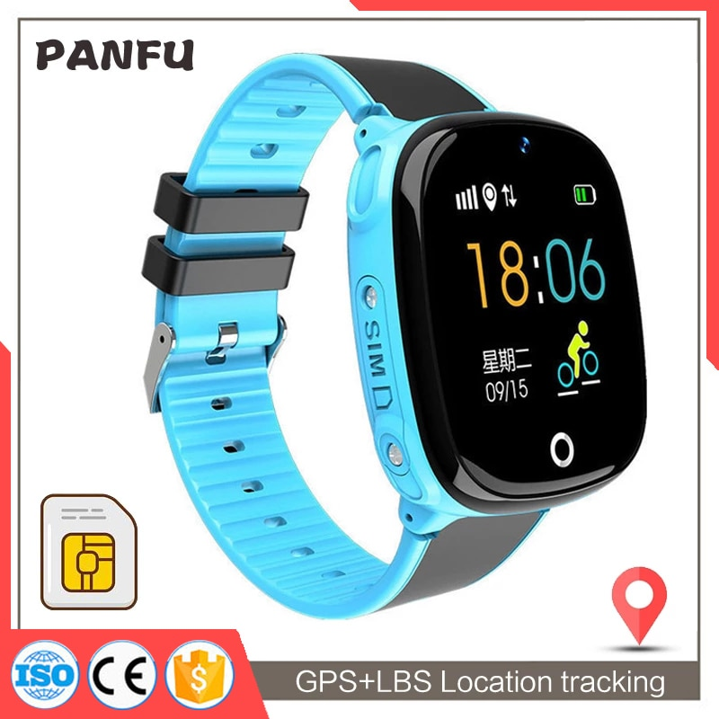 Smart Watch Kids GPS Tracking HW11 IP67 Waterproof Smartwatch Android  Security Fence SOS Call Smart