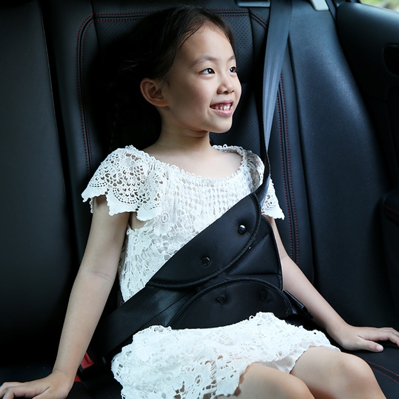 Cinturón de seguridad de asiento de coche para niños, funda de fijación para Ford Focus 2 3 MK2 Fiesta Fusion Ranger Transit Mustang Mondeo s-max Explorer