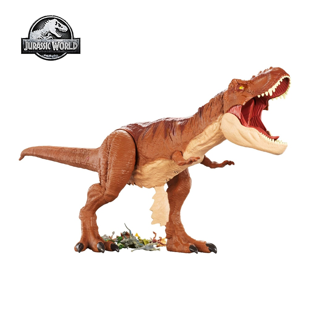 dinosaur animal series many chew toy Jurassic World Toy Giant T-Rex Dinosaur Series Giant Tyrannosaurus Sound Effects Movable Joints Kids Dinosaur Toy FMM63