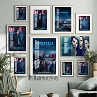 riverdale teen suspense tv series vintage art prints poster star actor bar pub club wall hanging picture living room home decor