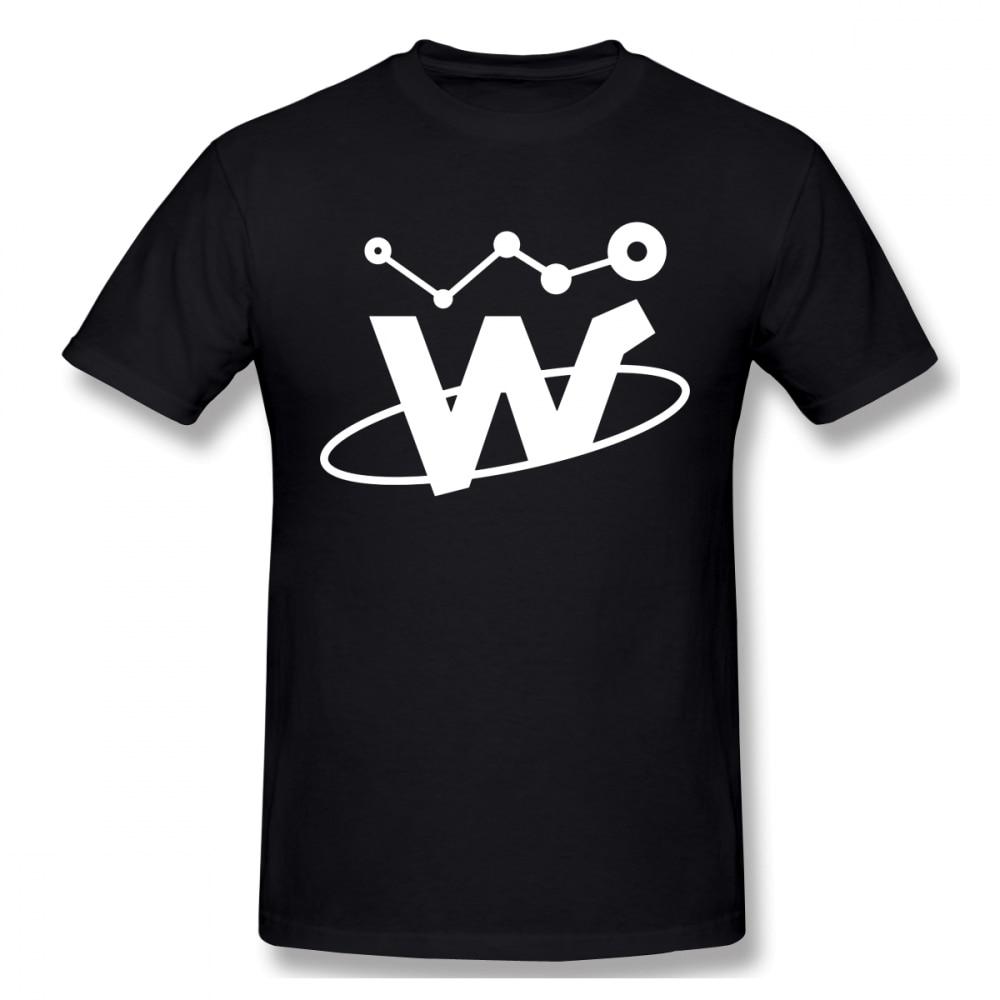 Walton Cripto moneda de la camiseta para los hombres de talla grande 4XL equipo Top