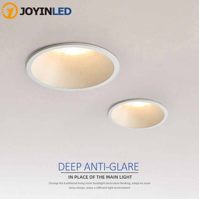 ip65 waterproof led recessed downlight 5w 7w 9w 12w 15w led spot light ceiling lamp home lighting ac 85 265v for bathroom lamp Dimmable Recessed Anti Glare COB LED Downlight 5W/7W/9W/12W/15W LED Ceiling Spot Light AC85~265V Background Lamp Indoor Lighting