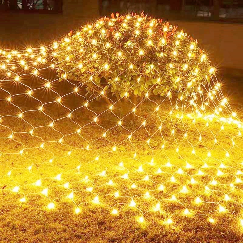 LED Christmas Decoration Fairy Mesh Lights 220V 110V for Xmas Home and Garden Waterproof Party Weddi