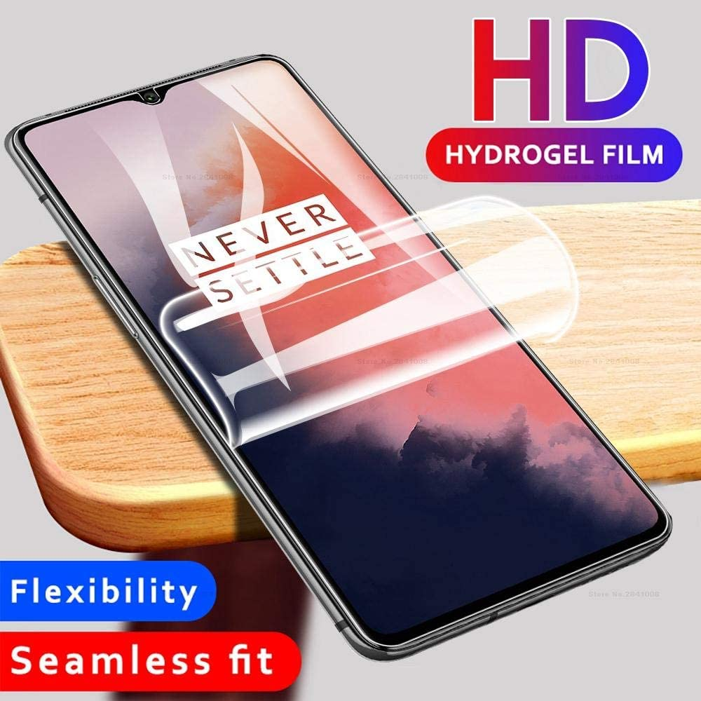 Full Cover Hydrogel Film For Oneplus 8T 6 6T 7 Case Screen Protector For Oneplus 7T 6 6t Anti(Not