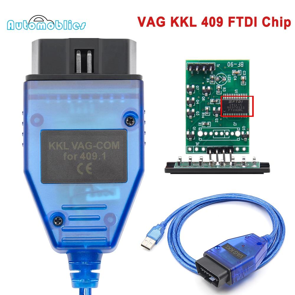 VAG 409 KKL VAG COM KKL 409,1 FIATECUSCAN FTDI автомобильный Ecu OBD OBD2 Диагностический кабель для VW/Audi/Skoda/Seat сканирующий инструмент 4-ходовой переключатель