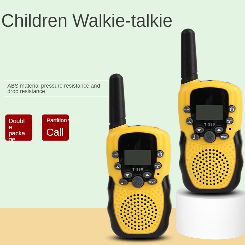 Parent-child Interaction Two-installed Children's Walkie-talkie 0.5w High-power Wireless Simulation Real-time Walkie-talkie