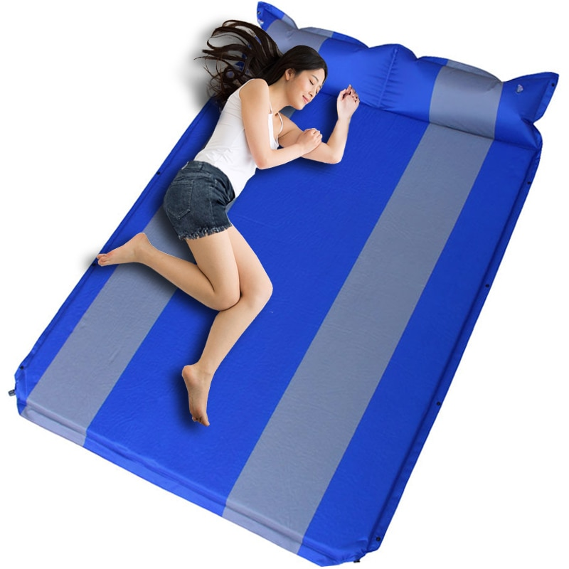 Special Offer TOP Inflatable car mattress SUV outdoor camping inflatable bed PVC flocking Multifunctional Car inflatable bed car