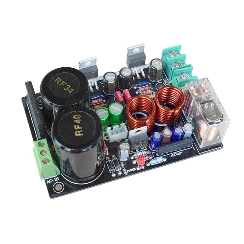 NEW-LM1875 o Amplificador, Amplificador estéreo gaincud versión GC LM1875, Kits de bricolaje con Amplificador de baja distorsión