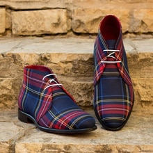2020 Men New Fashion Handmade Ankle High Boots Low Heel Lace-up Pointed Toe Shoes Male Vintage Class