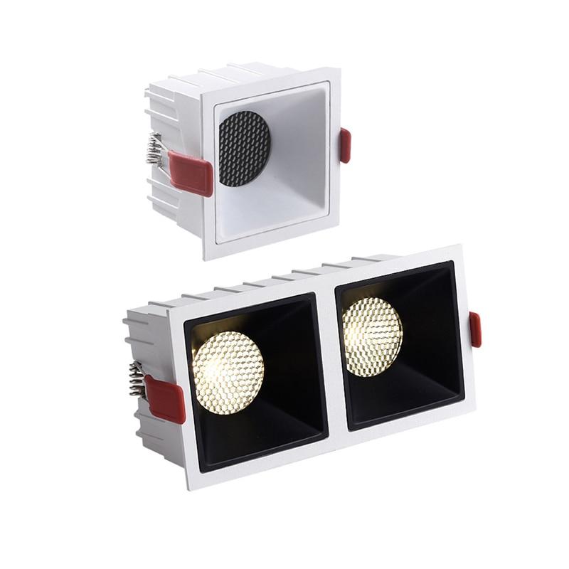 Dimmable LED Downlight Anti-Glare led Ceiling Lamp LED Spot Lighting Bedroom Kitchen led Recessed Downlight led