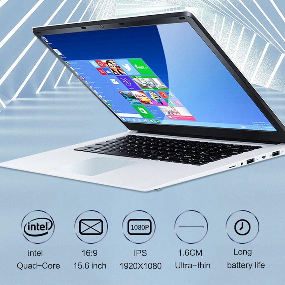 Original 15.6 inch IPS intel J4115 Quad Core Notebook Computer ROM 512GB SSD RAM 8GB DDR4 Windows 10 Laptop Ultrabook camera