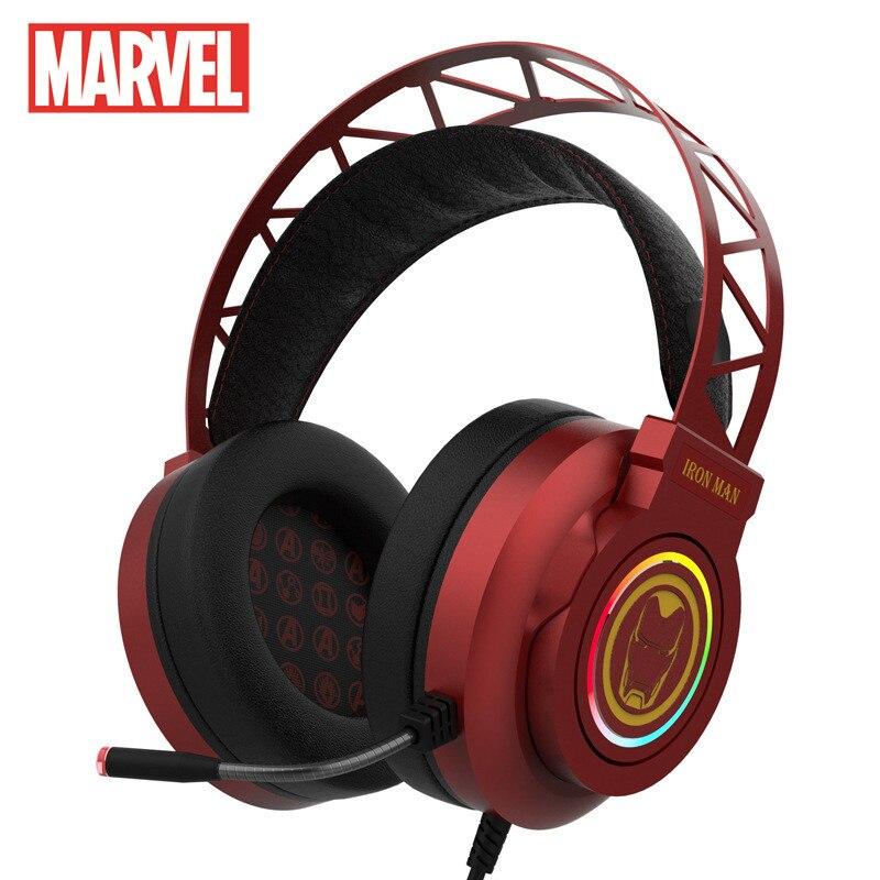 marvel certificou o fone de ouvido de auscultadores esports para jogos de computador