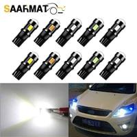 10pcs plug and play 6000k white car car interior lights reading light for ford focus 2 3 fiesta mk2 mk3 mondeo mk4 fusion ranger