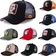 All Brand Anime Dragon Ball Z 62 Styles Snapback Cap Cotton Baseball Cap Men Women Hip Hop Dad Mesh
