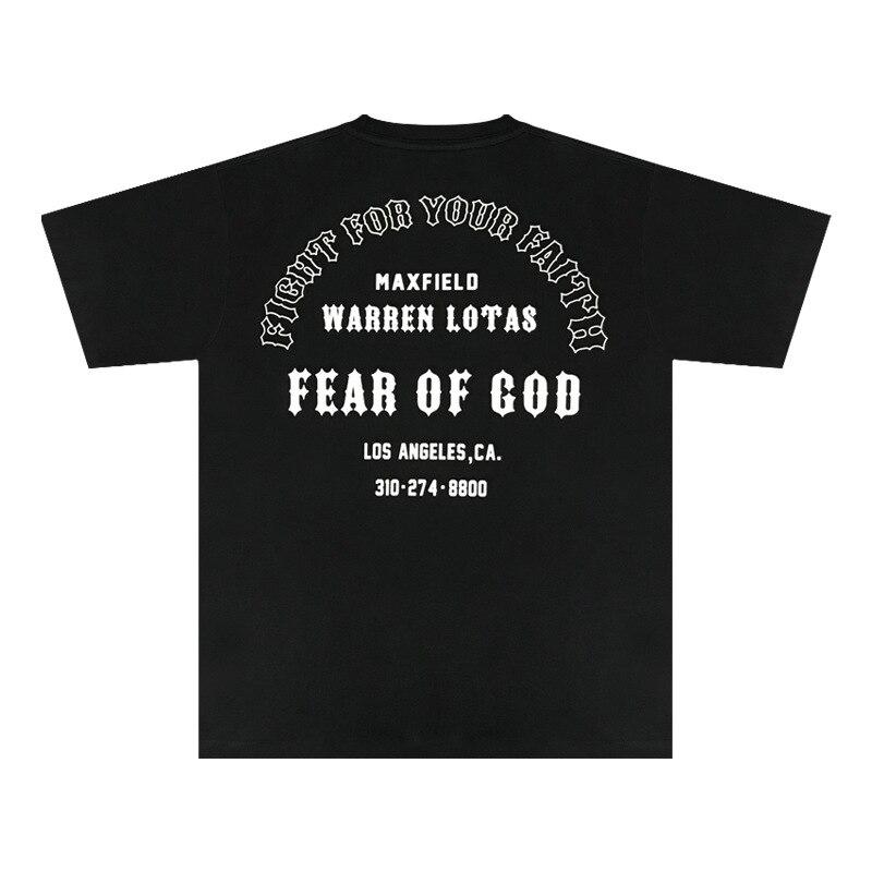 Alta calidad 11 FOG Essentials temporada 6 Navidad camisetas Jesús los ángeles impresión camiseta de gran tamaño hombres Camiseta de manga corta