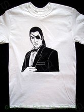 Yakuza 0 Goro Majima Футболка (Yakuza 1, 2, 3, 4, 5 Kiwami Dead Souls) хлопковые классические футболки с героями мультфильмов