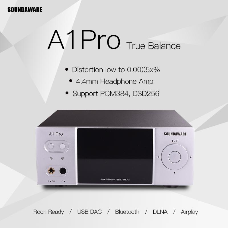 SOUNDAWARE A1 PRO A1PRO ، True Balance ، FPGA متكامل ، DAC ، Hifi ، مشغل موسيقى متدفق مع Roon Ready ، DLNA ، دعم Airplay