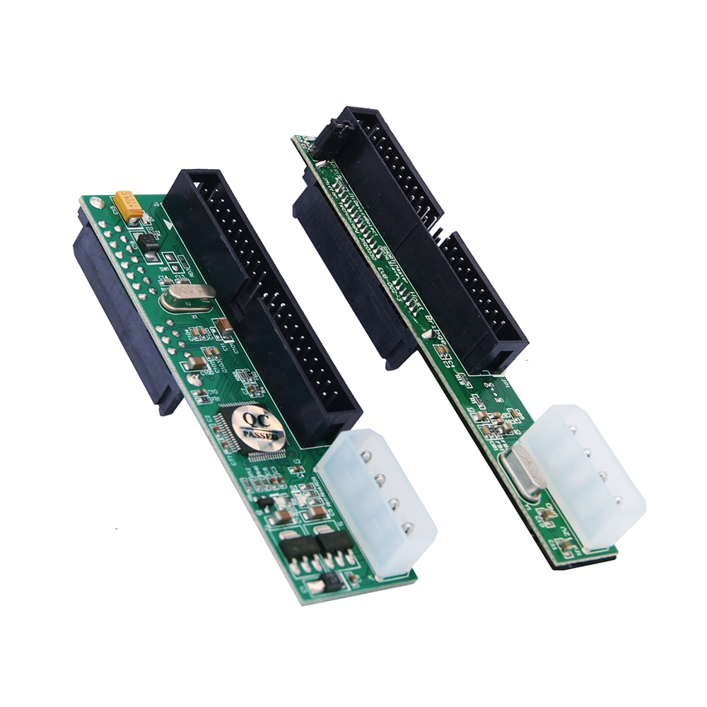 OULLX 40PIN IDE To SATA Card Hard Disk Optical Drive Recorder PATA To SATA Serial To Parallel Conver