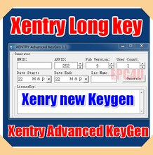 for Xentry Advanced KeyGen 1.1 -  for Xentry Long Key Keygen unlocked+Blacklist+Reg